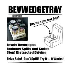 Beverage Transport system for car seats all vehicles